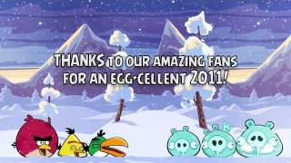 Angry Birds Seasons Happy New Year 2012 from the Angry Birds!