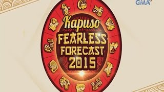 Kapuso Fearless Forecast 2015: The 12 animal signs