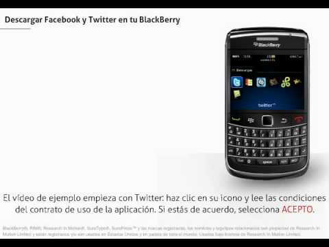 BlackBerry Bold – Descargar Facebook y Twitter en tu Blackberry