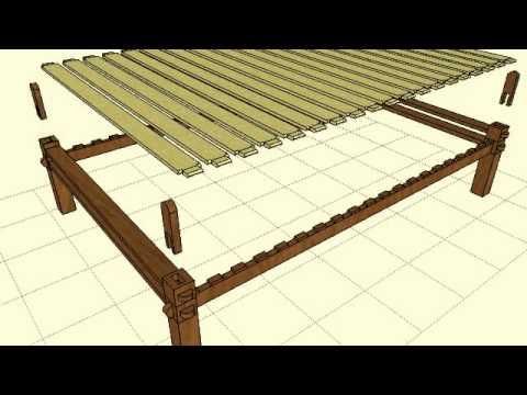 Amazing Keyframe Animation Slat Platform Bedframe