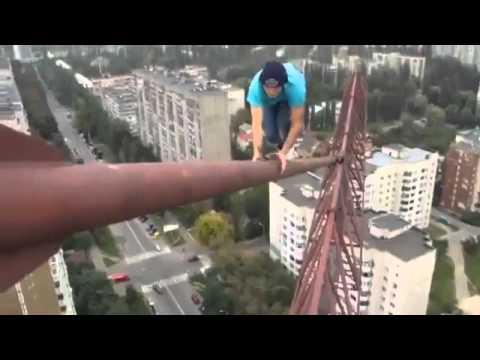 Yükseklik Korkusuna Tepki Olarak Doğan Adam