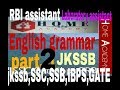 English grammar golden rule for jkssb ,ssc,ssb,junior assistant ,lab assistant examination by home a