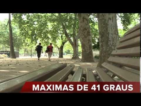 DIA EM IMAGENS: TEMPERATURAS ELEVADAS