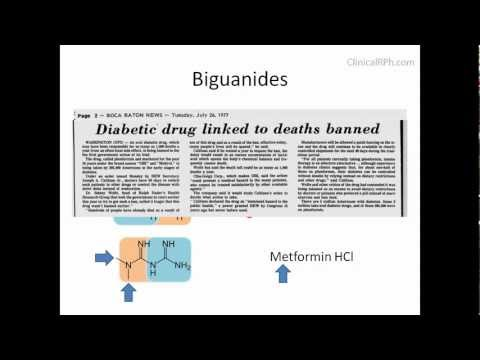 How Drugs Make Sense: Biguanides