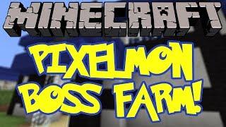 Pixelmon Tutorial: How to Build a Boss Farm
