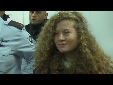 العرب اليوم - شاهد: النيابة العسكرية الإسرائيلية تؤكّد أنّ عهد التميمي خطرة