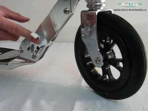 """Самокат Micro """"Flex"""" Air 200 mm"""
