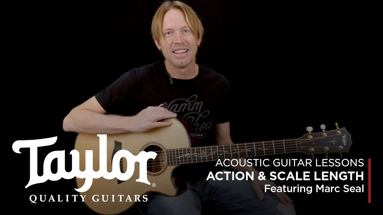 Acoustic Guitar Terminology: Action & Scale Length | Taylor Guitars