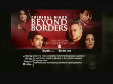 Criminal Minds: Beyond Borders 1.09 (Preview)