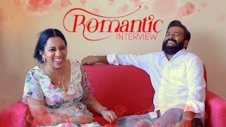 Video Romantic Interview of Santhosh Narayanan with his wife Meenakshi - First time ever MP3, 3GP, MP4, WEBM, AVI, FLV Desember 2018
