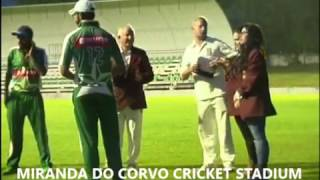 Over the next weeks, some clips of the TRI-NATIONS cricket matches will also be posted. Coimbra Cricket Club in Miranda do Corvo Cricket Stadium Thank you ht...