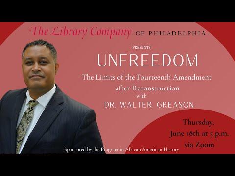 Unfreedom: The Limits of the Fourteenth Amendment