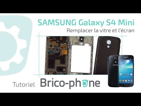 comment reparer ecran galaxy s4