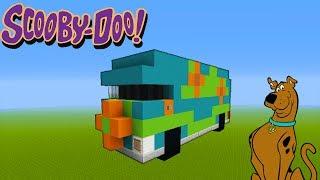 "Minecraft Tutorial: How To Make The Mystery Machine ""Scooby Doo"" ""Mystery Machine"""