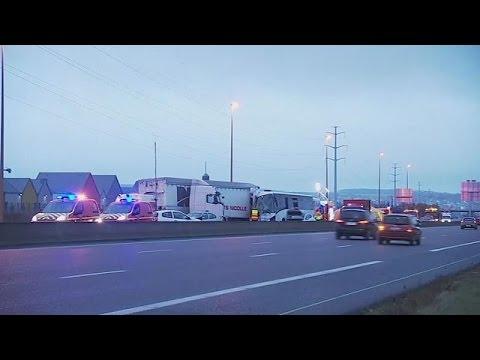 Γαλλία: 65 τραυματίες σε καραμπόλα στον αυτοκινητόδρομο A13