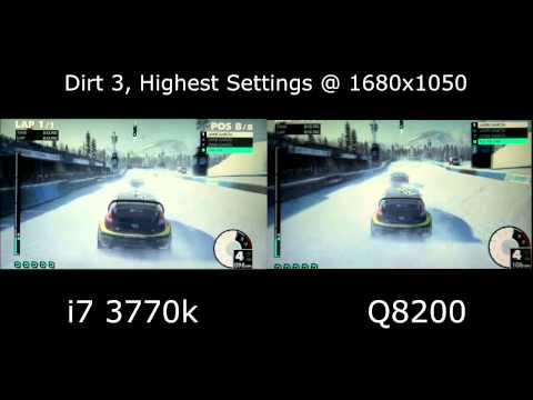 I7 - The Q8200, at 2.3 ghz, was a wonderful processor, and served me well for years, but I upgraded and wanted to give others a chance to see the clear difference...