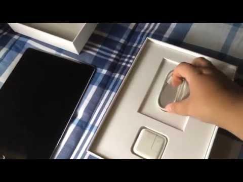 Unboxing: Apple iPad Air 2 (64GB Wifi/cellular slate gray)