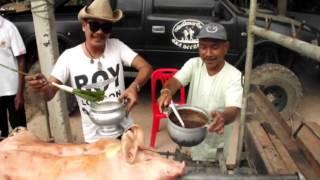 Prachinburi Thailand  city photos : Suckling pig Muang Prachin Buri, Thailand Vetiver