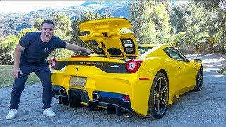 5 INSANE Features Of The Ferrari 458 Speciale Aperta by Vehicle Virgins