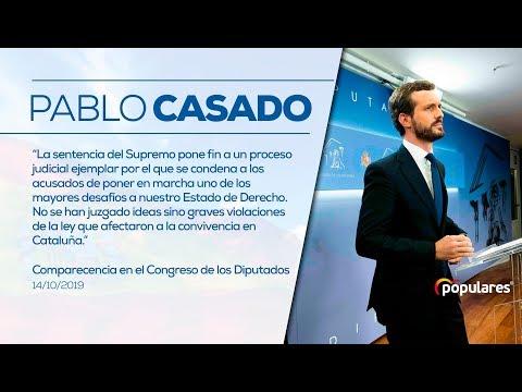 Pablo Casado comparece en el Congreso de los Diput...