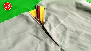 Video Sew Zippers In Men's and Women's Pants MP3, 3GP, MP4, WEBM, AVI, FLV September 2018
