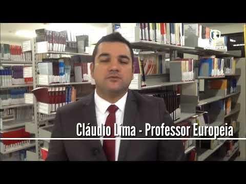 Palestra Europeia - Cláudio Ricardo Lima