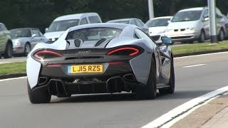 I filmed the 2016 McLaren 570S in Knokke yesterday at the Zoute Grand Prix! He does a few accelerations and LAUNCH CONTROL! I think the sound is beatifull, w...