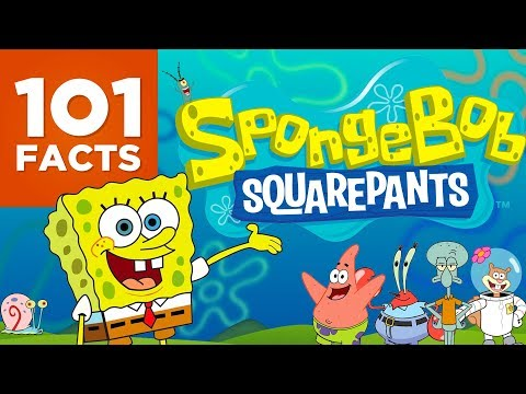101 Facts About Spongebob Squarepants