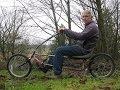 DIY recumbent bicycle