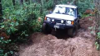 1999 Land Rover Discovery II At Tahuya OHV Park
