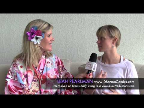 Creativity and finding life purpose one drawing at a time – Leah Pearlman, Dharma Comics