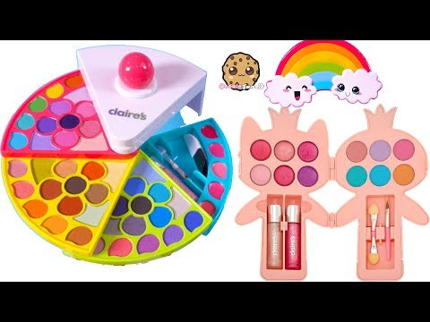 Cutest Beauty Makeup Ever ! Rainbow  Eyeshadow Palette Lipgloss Haul