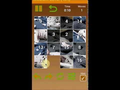 Video of Doggies Slider Photo Puzzle