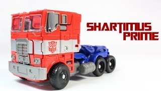 Transformers 4 Age Of Extinction Optimus Prime Evasion Mode Voyager Class Movie Action Figure Review