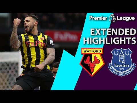 Video: Watford v. Everton | PREMIER LEAGUE EXTENDED HIGHLIGHTS | 2/9/19 | NBC Sports