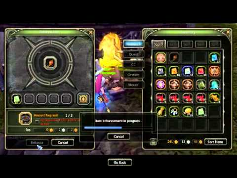 Dragon Nest Sea : +12 Weapon Enhancement