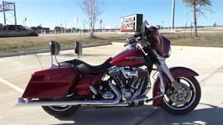 10. 645242   2009 Harley Davidson Street Glide   FLHX
