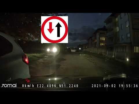 Piękny pokaz buractwa kobiety za kierownicą BMW