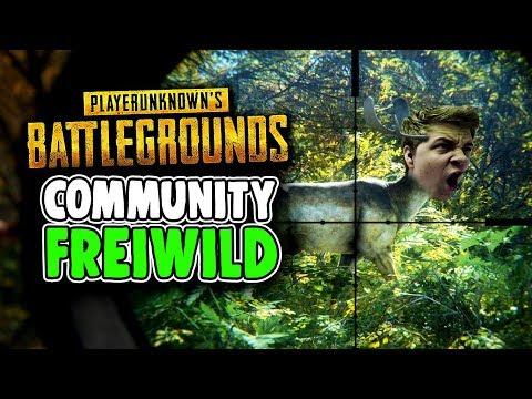 Community Freiwild - Playerunknowns Battlegrounds - Deutsch German - PUBG