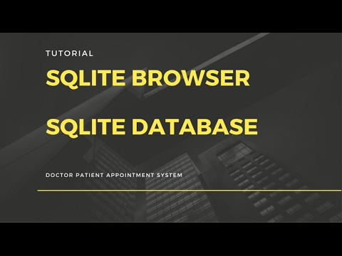 Using - Sqlite Browser and Sqlite Database