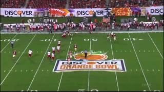 Vince Williams vs Northern Illinois (2012 Bowl)