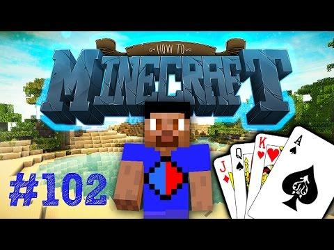 Minecraft SMP HOW TO MINECRAFT #102 'POKER NIGHT!' with Vikkstar