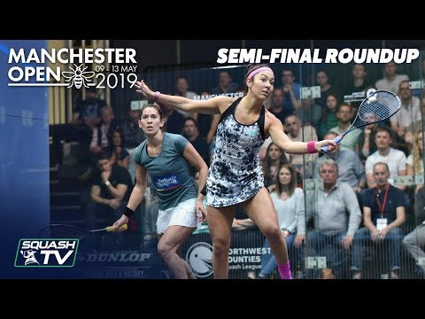 Squash: Manchester Open 2019 - Semi-Final Roundup