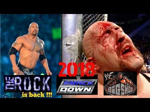 VIRAL 2018 THE ROCK Kembali Ke Smackdown,BIG SHOW Sekarat Di Hajar Di Ring