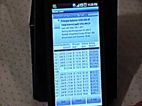 Video of Financial Calculator Pro