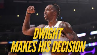 Dwight Howard Reveals His Decision by Lakers Nation