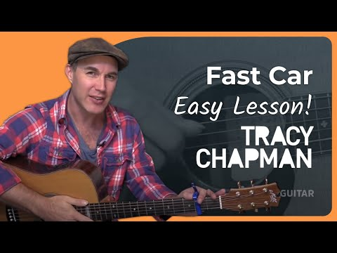 Acoustic - In this easy beginners guitar lesson we're going to learn how to play Fast Car by Tracy Chapman, an all time acoustic classic and great for beginners to get going with fingerstyle! The Justin...