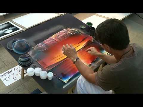 painting - http://www.youtube.com/user/TheStreetArtVideos street, art, graffiti, streetart, 3d, beautiful, realistic, illusion, painting, drawing, how, to, paint, draw,...