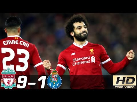 Liverpool Vs Porto 9-1 - All Goals & Extended Highlights RÉSUMÉ & GOLES ( Last Matches ) HD