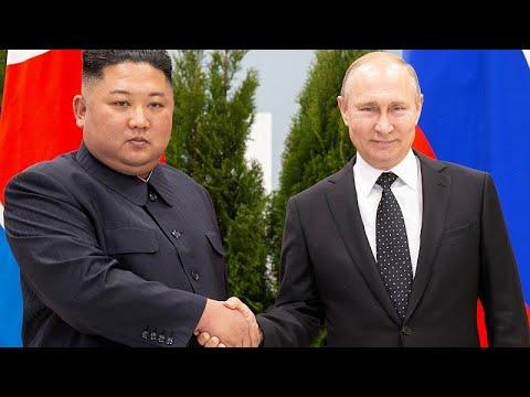 Russland / Nordkorea: Erstes Gipfeltreffen - Kim bei Putin
